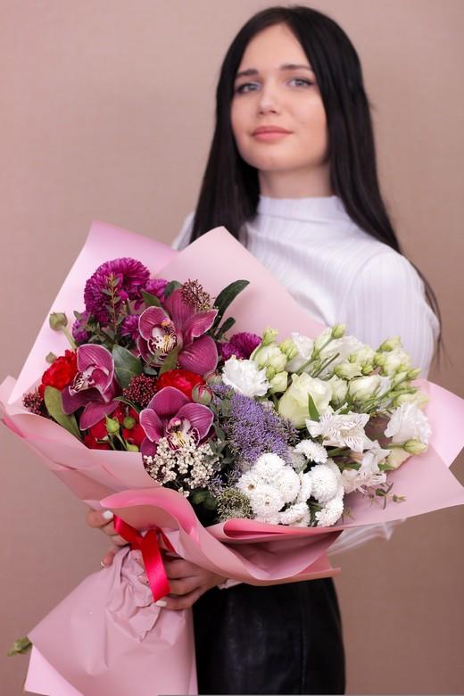 Букет Орхидеи на день рождения