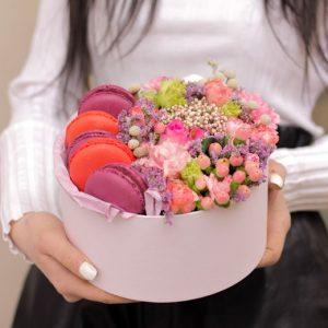 Коробочка с цветами 3