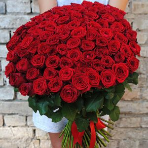 101 роза Букет