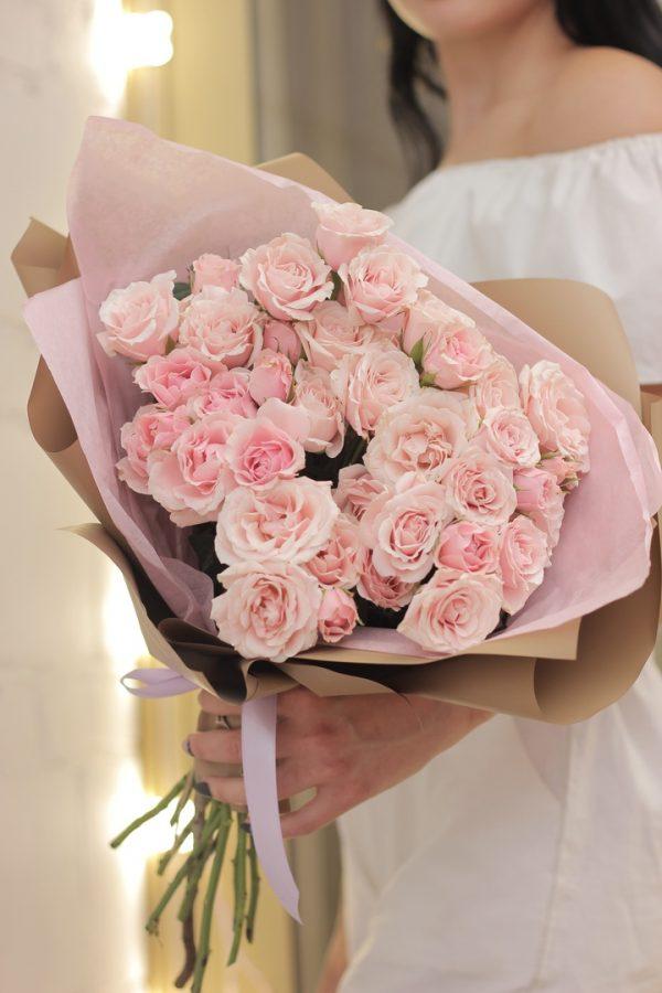 Роза кустовая Новосибирск Доставка