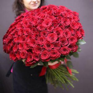 101 роза Новосибирск