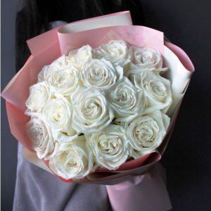 Белые розы Новосибирск
