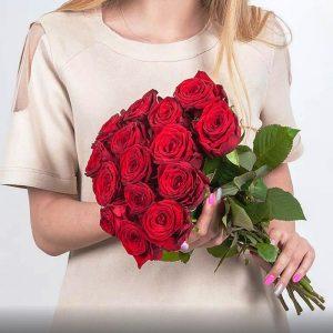доставка цветов 15 роз