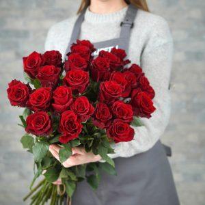 25 розы новосибирск