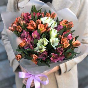 Цветы Альстромерии с доставкой