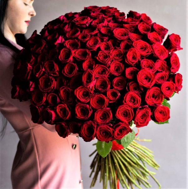 Букет из 101 розы Голландия