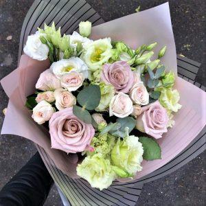 Букет нежность из цветов