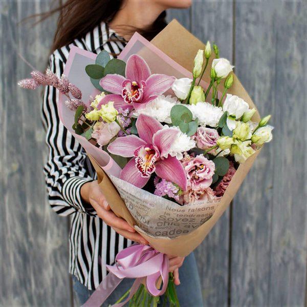 Букет орхидея голландская