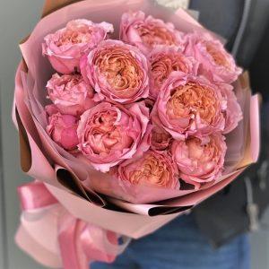 Букет пионовидные розы Доставка