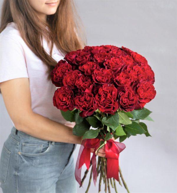 Букет 25 роз Новосибирск