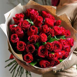 Доставка Розы премиум 35 шт.
