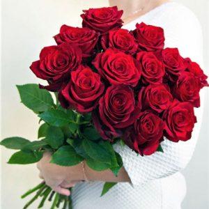 """Доставка цветов """"15 розочек """" №123"""