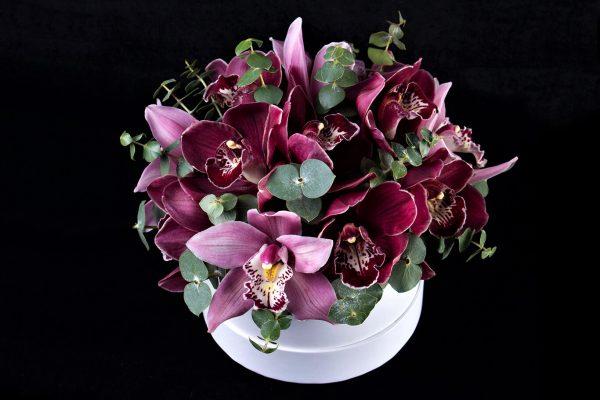Композиция с орхидеей на заказ
