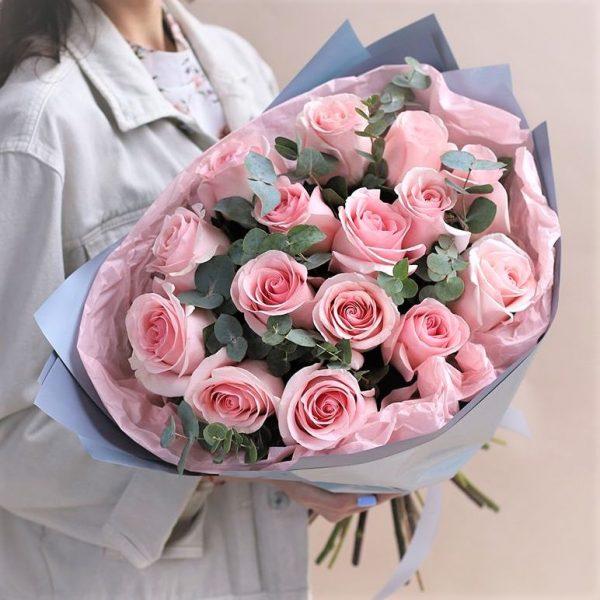 Купить розы Розовые в новосибирске