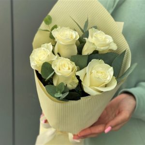 Мини букет роз