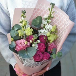 Мини букет с доставкой цветов