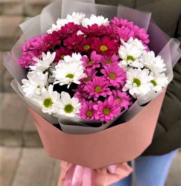 Хризантема кустовая 7 шт. букет