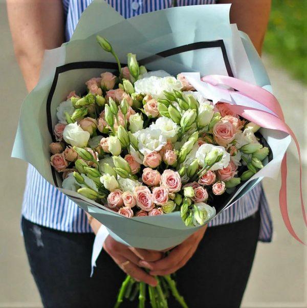 Цветы Новосибирск Эустома