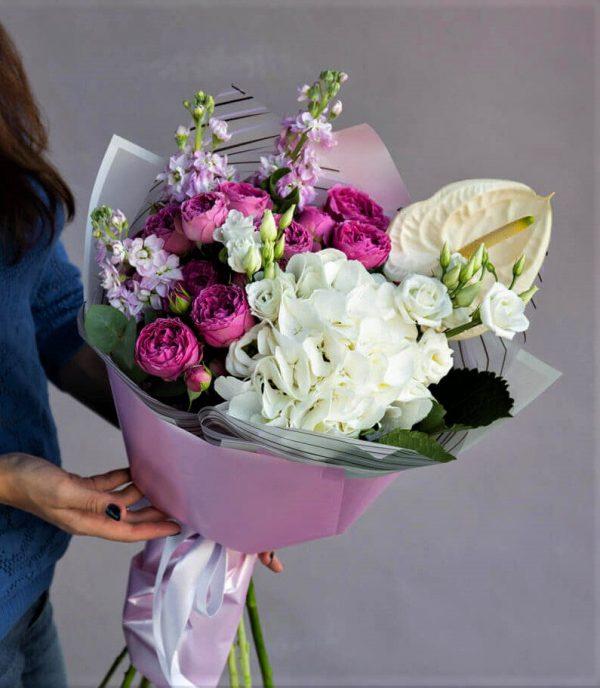 Цветы Новосибирск букет
