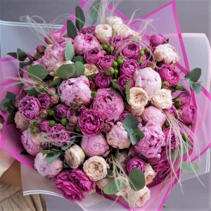 Цветы Новосибирск в букете