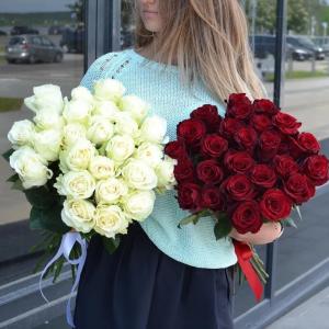 Голландская роза букет