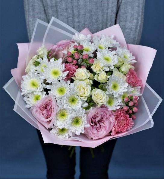 купить букет роз кустовых микс