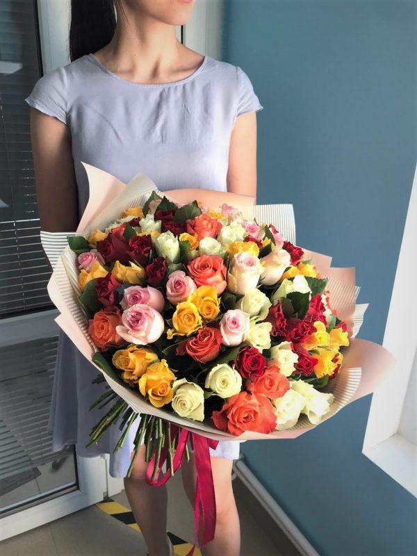 101 роза купить №161