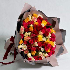 101 роз кения mix