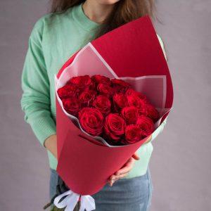 15 роз Красных