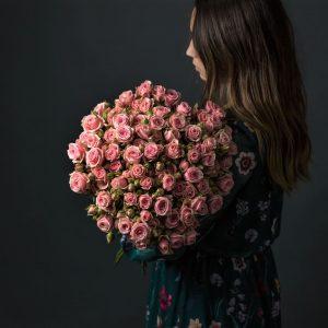 21 роза Кустовая доставка