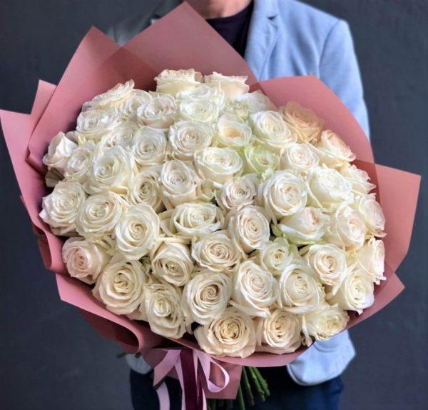 51 Роза Белая Доставка