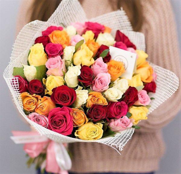 51 роза кения mix
