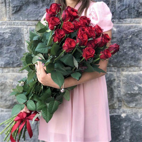 Букет роз Премиум 80 см