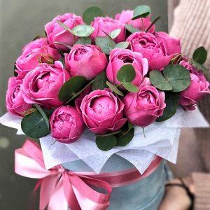 Коробка с цветами под заказ