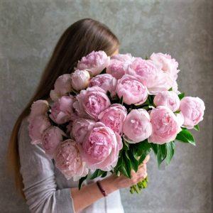 Нежно Розовый пион 1 шт.